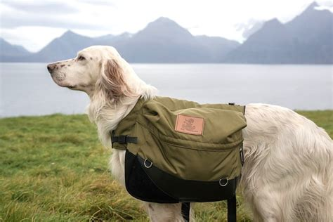 dogs saddle bags dog backpacks hiking canine packs