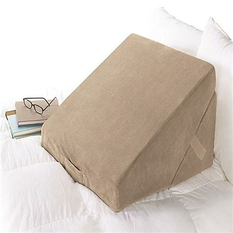 the wedge pillow brookstone 174 4 in 1 bed wedge pillow bedroom