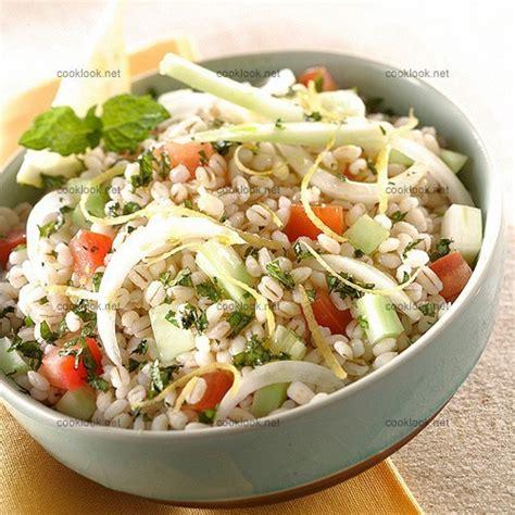 orge recettes cuisine photo culinaire taboulé d 39 orge perlé cooklook photo
