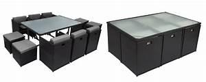 Table De Salon Alinea : table et chaise de jardin en resine mc immo ~ Premium-room.com Idées de Décoration
