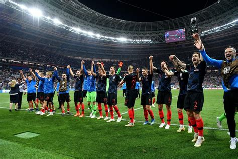 Croatia Makes The World Cup Finals Surpassing