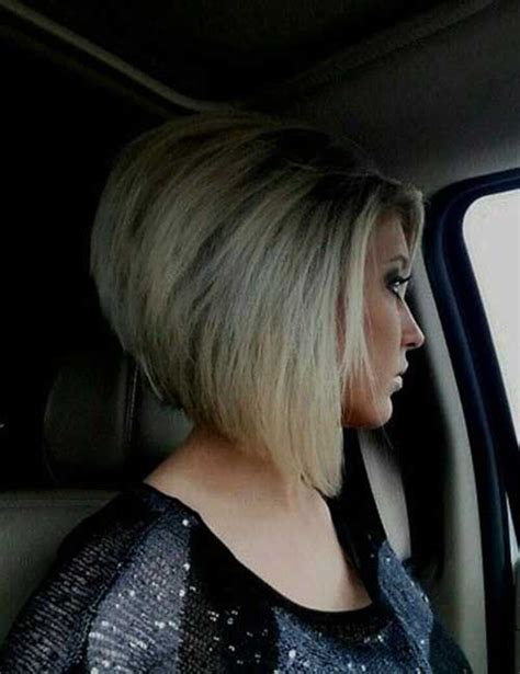 chic inverted bob hair cuts  women