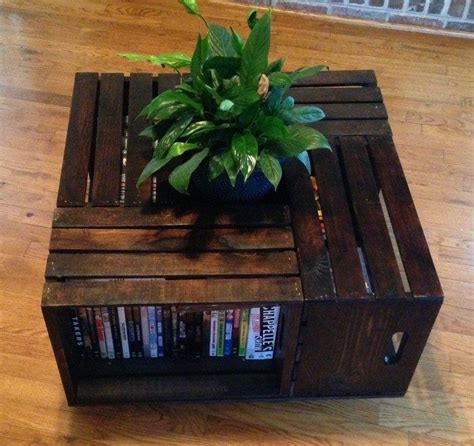 Ever look on the internet and. 15 Creative DIY Home Decor Ideas | Crate coffee table, Diy ...