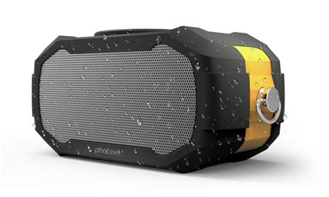 rugged bluetooth speaker photive s5 compact water resistant rugged portable