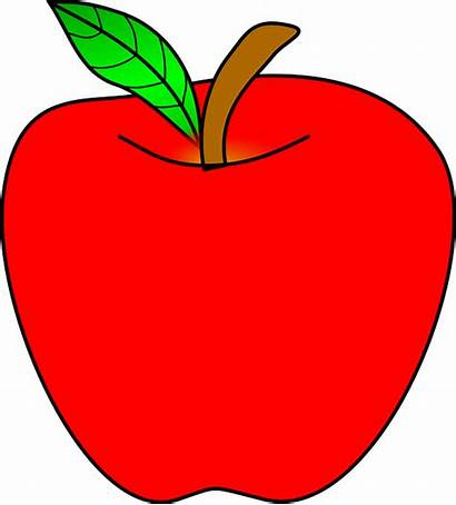 Apple Clipart Pixabay Fruit Objects Ripe Healthy