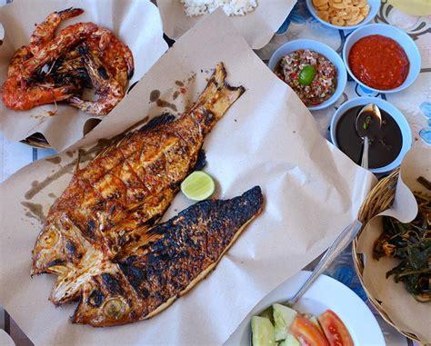 4 potong (@ 125 g) fillet ikan kakap. 9 Restoran di Jimbaran Bali Wajib di Coba   Bali Getaway Indonesia