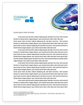 email hosting letterhead template layout  microsoft