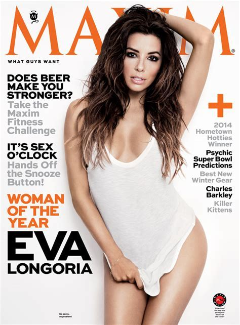 Eva Longoria is Maxim Magazine's Woman of the Year for its