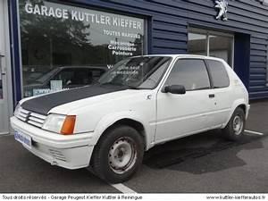 Achat Voiture Accidentée : achat voiture peugeot 205 rallye occasion ~ Gottalentnigeria.com Avis de Voitures