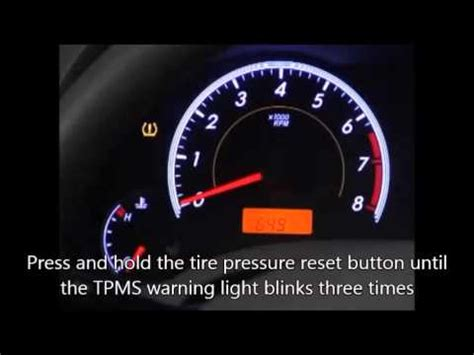how to clear tire pressure light on toyota camry 2014 toyota camry tpms reset autos post