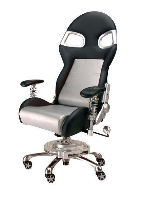 pitstop xle office chair silver chs chairs