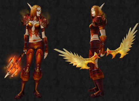 transmog mary wow bloody hunter warcraft