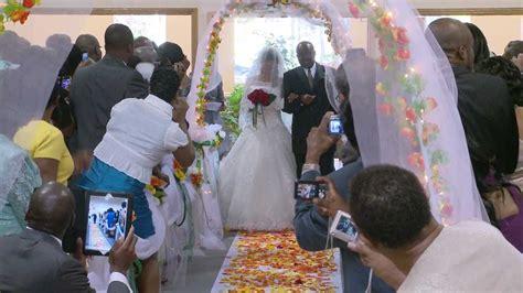 walk   aisle  african wedding video photo