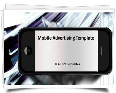 T Mobile Powerpoint Template by Powerpoint Mobile Advertising Template