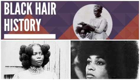 infographic black hair history