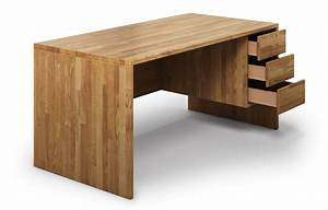 Schreibtisch Massivholz Eiche : opus aus eiche schreibtisch ~ Whattoseeinmadrid.com Haus und Dekorationen