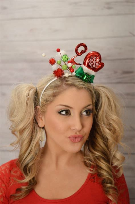ugly xmas headband 375 best images about diy hairbows on chevron headbands