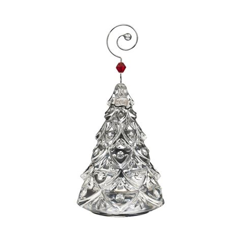 waterford crystal mini christmas tree ornament 2016