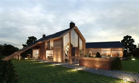 Contemporary Farm House - Barn Houses