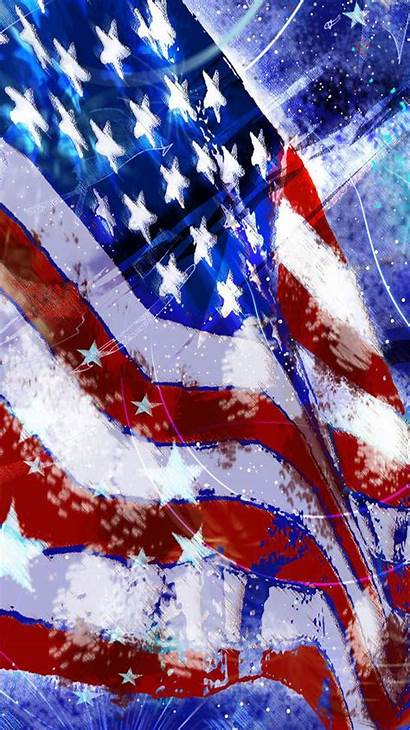 Flag Usa Iphone Wallpapers July 4th American
