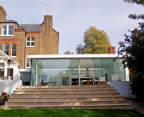 Glass Box Extension and House Extension, Crouch End, North