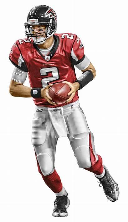 Falcons Atlanta Clipart Football American Nfl Background