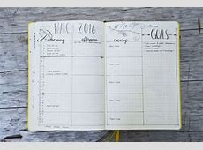 5 Creative Monthly Spread Ideas for your Bullet Journal