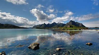 Desktop Outdoors Water Nature Mountains Skyscapes Lakes
