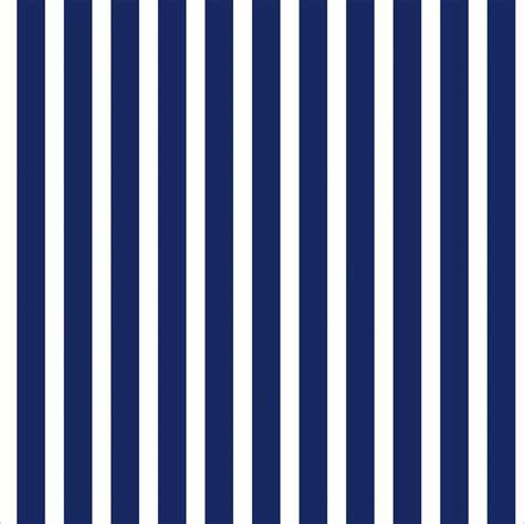 Papel de Parede Listrado em Azul Marinho Sobre Branco
