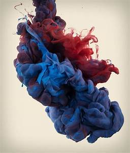 High-Speed Photographs of Ink Dropped into Water ...