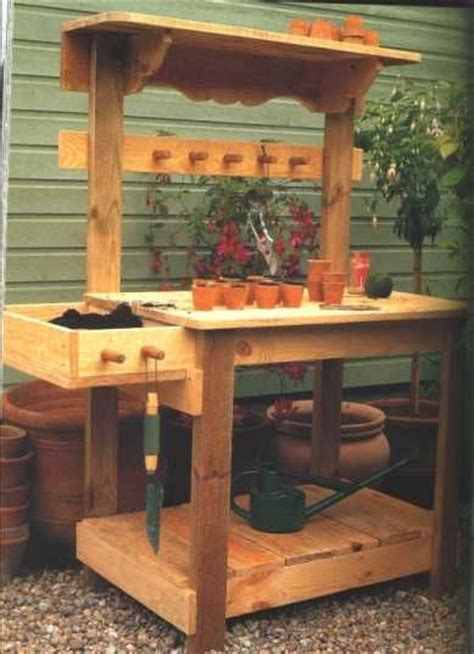 best 25 potting bench plans ideas on garden