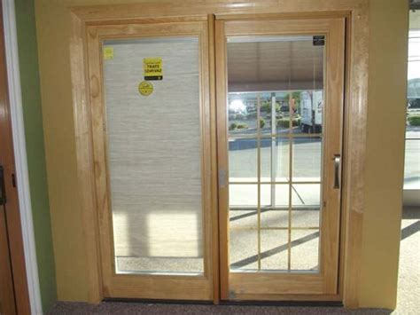 sliding door 187 sliding door with built in blinds