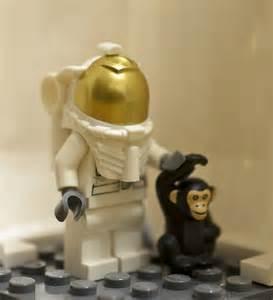 LEGO Monkey Minifigure