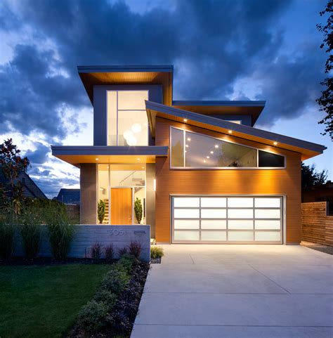 house white rock modern home tour western living Modern