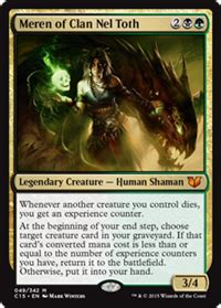 competitive edh decks 2015 competitive stax combo meren of clan nel toth