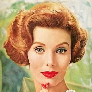 1950s-makeup-face2.   1950s Makeup   Pinterest   Makeup ...