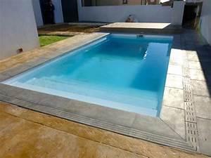 Piscine Semi Enterrée Coque : piscine coque polyester hors sol semi et enterr e ~ Melissatoandfro.com Idées de Décoration