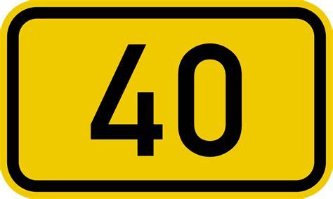 Bundesstraße 40 Wikipedia