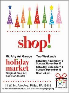 Mt Airy Art Garage Hosts A Holiday Art And Craft Market
