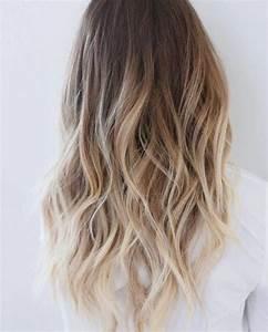 Ombré Hair Chatain : ombr hair blond pour une crini re rayonnante cet t ~ Dallasstarsshop.com Idées de Décoration