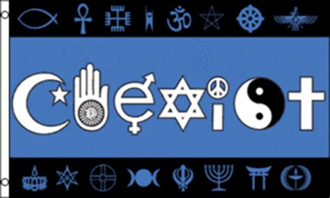 coexist symbols tapestry flag  sale  sunshine daydream