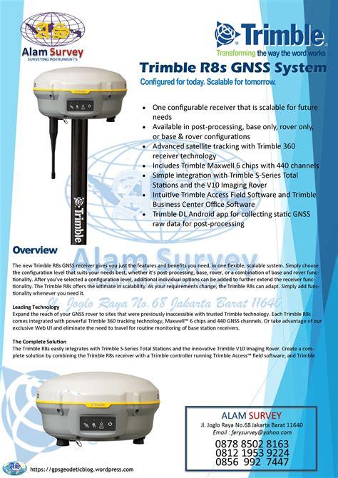 trimble rs gnss system alam survey jlalmubarok ii