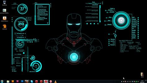 Iron Man Jarvis Wallpapers ·①