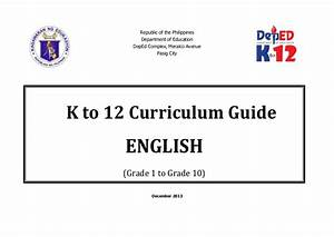 Deped Grade 9 English Module 4th Quarter
