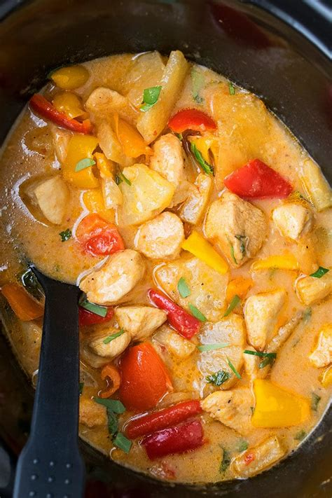 crockpot pineapple chicken  pot recipes