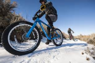 Winter Mountain Biking Fat Bike
