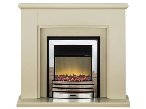 Adam Greenwich Fireplace Suite In Stone Effect With