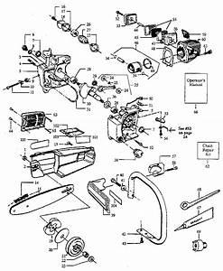 Craftsman Model 358355140 Chainsaw  Gas Genuine Parts