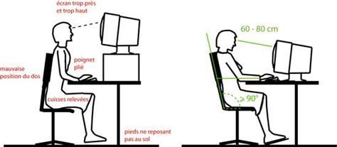 position bureau l 39 ergonomie à la place de travail état de vaud