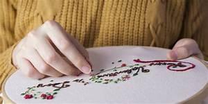 Apprendre à Coudre à La Main : apprendre la broderie tout ce qu 39 il faut savoir marie claire ~ Melissatoandfro.com Idées de Décoration